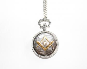 Horloge vestzak België Dutch Nederlandse regalia maçonniek Vrijmetselarij Vrijmetselaarswinkel Loge Benelux