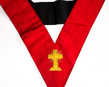 Cordon juweel Hoge Graden 18 Prins van het Soevereine Rozenkruis Rosecroix Dutch nederlandse regalia maçonniek Vrijmetselarij Vrijmetselaarswinkel Loge Benelux