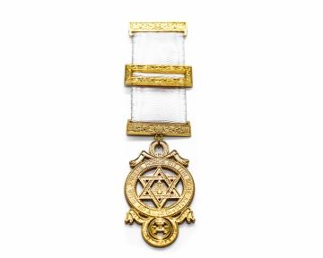 Borstjuweel Royal Arch Triple Tau Heilig Koninklijk Gewelf Blauwe Graden Dutch nederlandse regalia maçonniek Vrijmetselarij Vrijmetselaarswinkel Loge Benelux