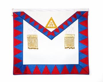 Schootsvel Royal Arch Triple Tau Heilig Koninklijk Gewelf Blauwe Graden Dutch nederlandse regalia maçonniek Vrijmetselarij Vrijmetselaarswinkel Loge Benelux steekzak