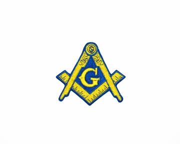 Badge Patch Widows Sons Blauwe Graden nederlandse regalia maçonniek Vrijmetselarij Vrijmetselaarswinkel Loge Benelux