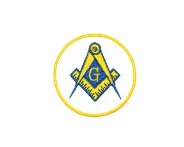 Badge Patch Widows Sons Blauwe Graden nederlandse regalia maçonniek Vrijmetselarij Vrijmetselaarswinkel Loge Benelux Passer en winkelhaak