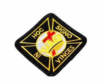 Badge Patch Widows Sons Blauwe Graden nederlandse regalia maçonniek Vrijmetselarij Vrijmetselaarswinkel Loge Benelux Knights Templar