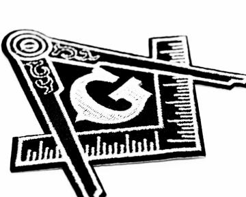 Badge patch Widows Sons Blauwe Graden nederlandse regalia maçonniek Vrijmetselarij Vrijmetselaarswinkel Loge