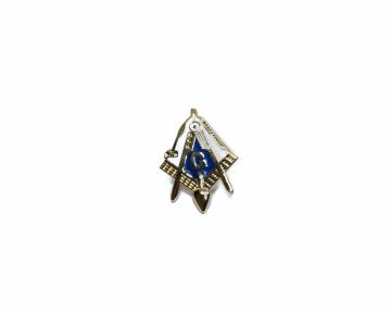 Reversspeld pin Blauwe Graden nederlandse regalia maçonniek Vrijmetselarij Vrijmetselaarswinkel Loge