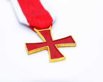 Borstjuweel Ridder Tempeliers Knights Templar nederlandse regalia maçonniek Vrijmetselarij Vrijmetselaarswinkel Loge
